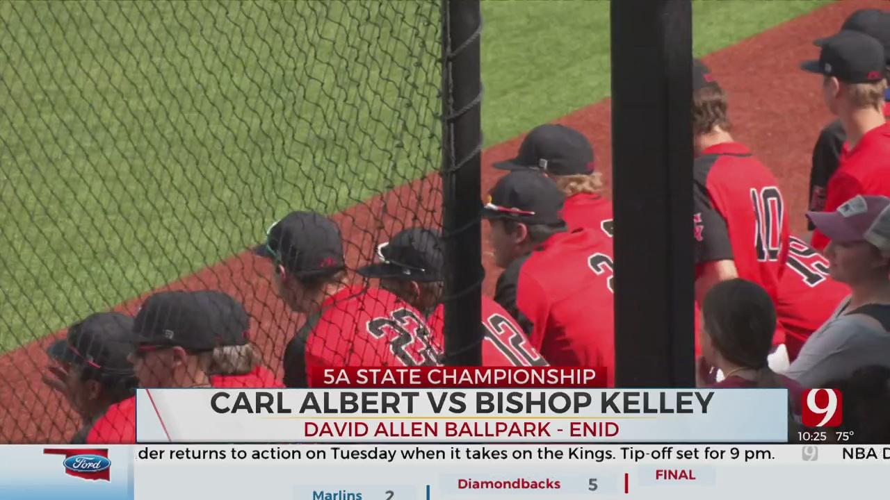 Carl Albert Runs Past Bishop Kelley For 5A Crown