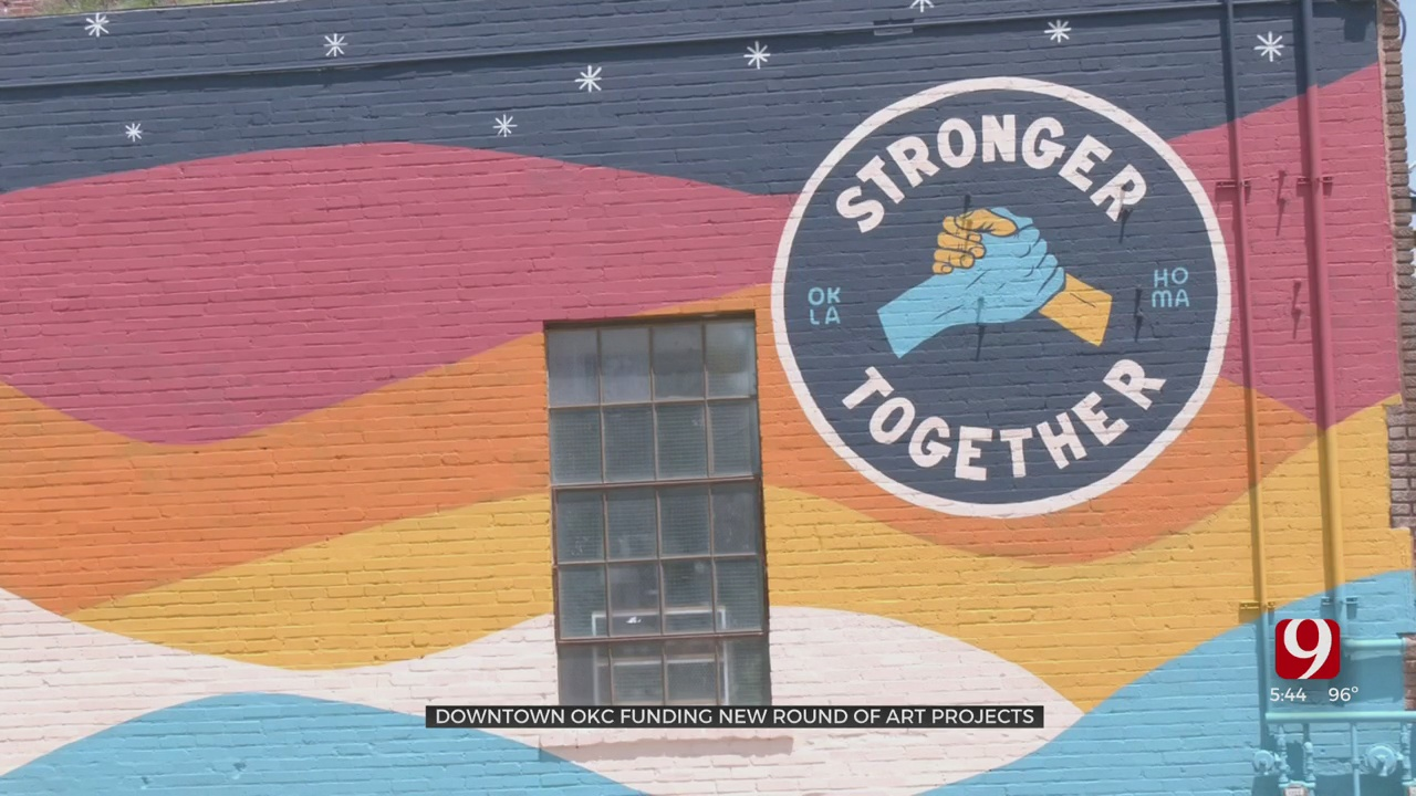 Downtown OKC Initiatives Fund New Art Projects