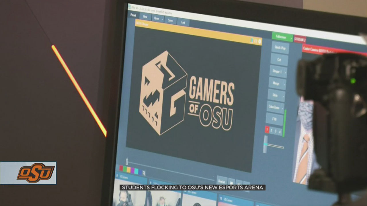OSU Welcomes Back Students With State-Of-The-Art Esports Arena