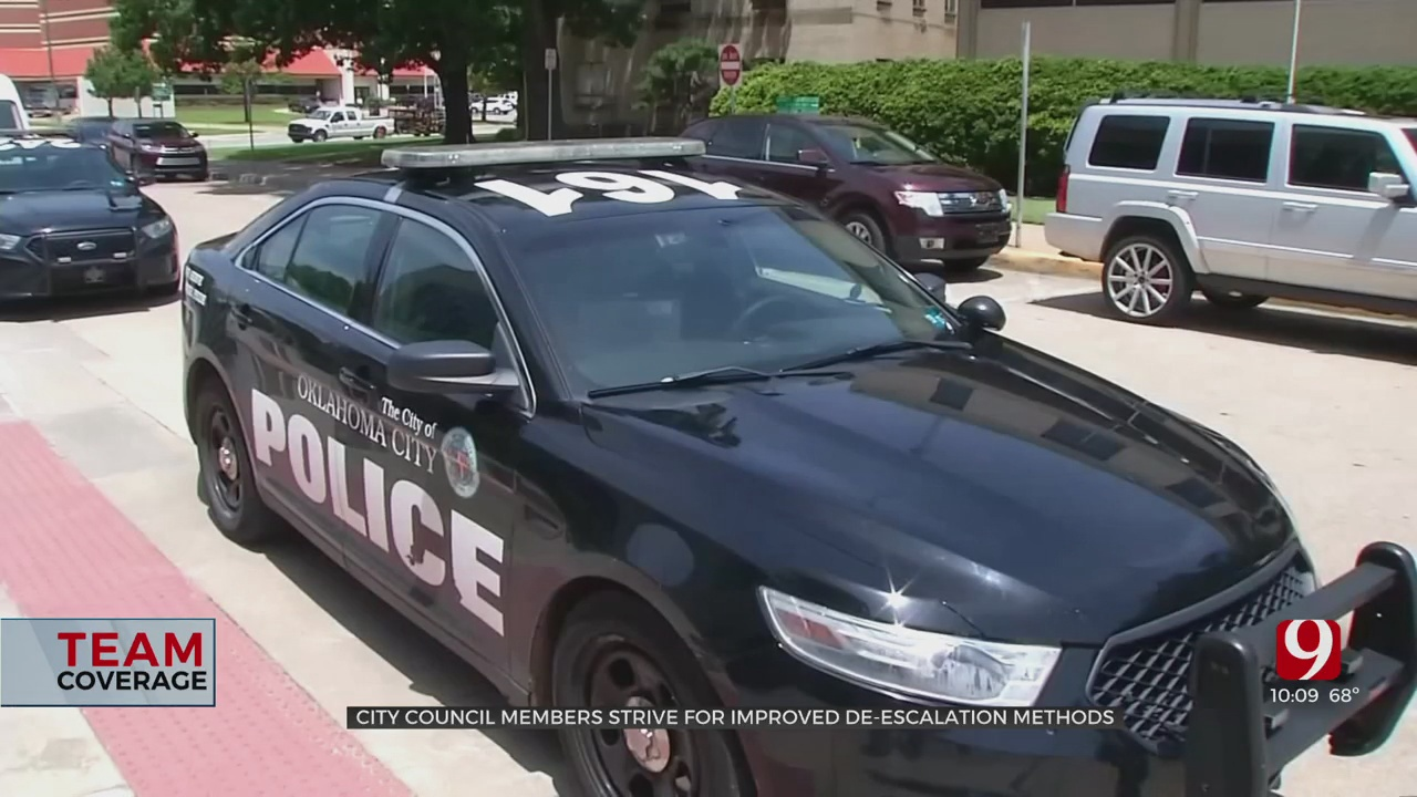City Council Members Working To Improve Police De-escalation Methods