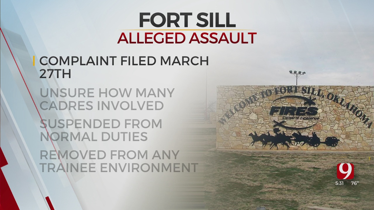 Army: Soldier Says She Was Sexually Assaulted At Fort Sill