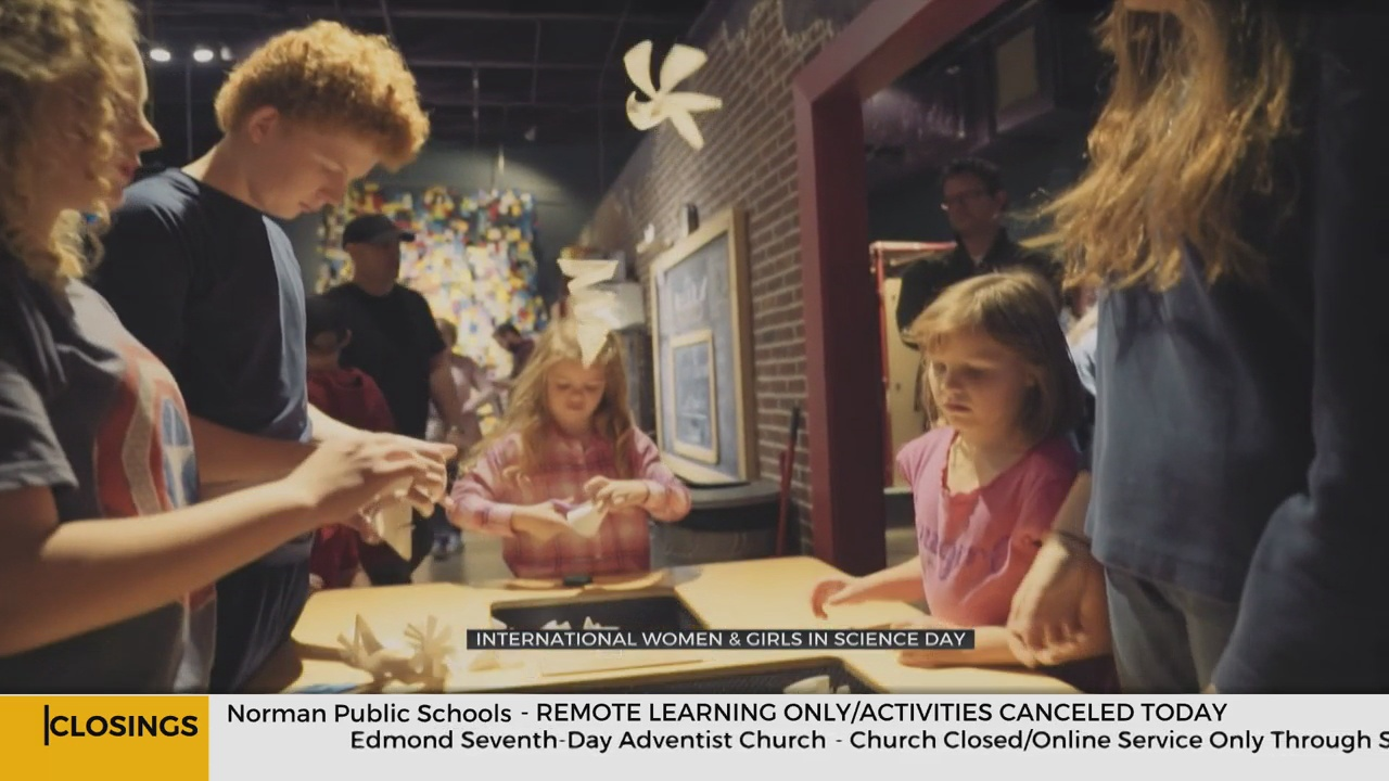 Science Museum Okla. Celebrates Girls In Science, Offers Learning Opportunities During Pandemic
