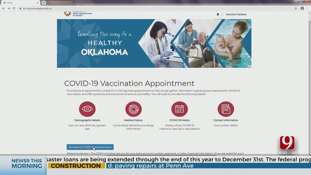CT Vaccine Portal
