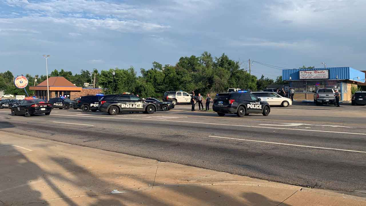 Police Arrest Armed Suspect Accused Of Staging Standoff At OKC Nail Salon Following Chase