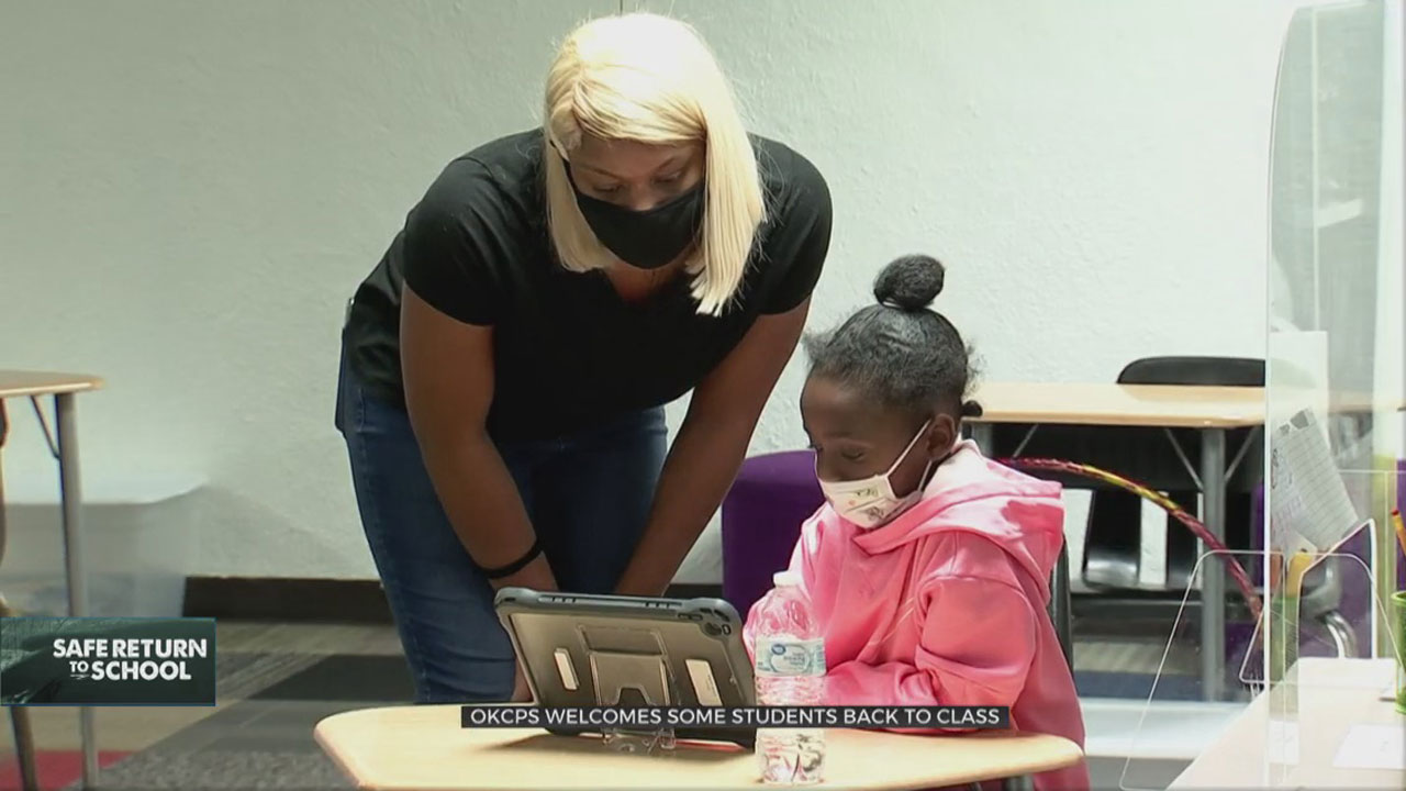 OKCPS Elementary Students To Return To In-Person Learning