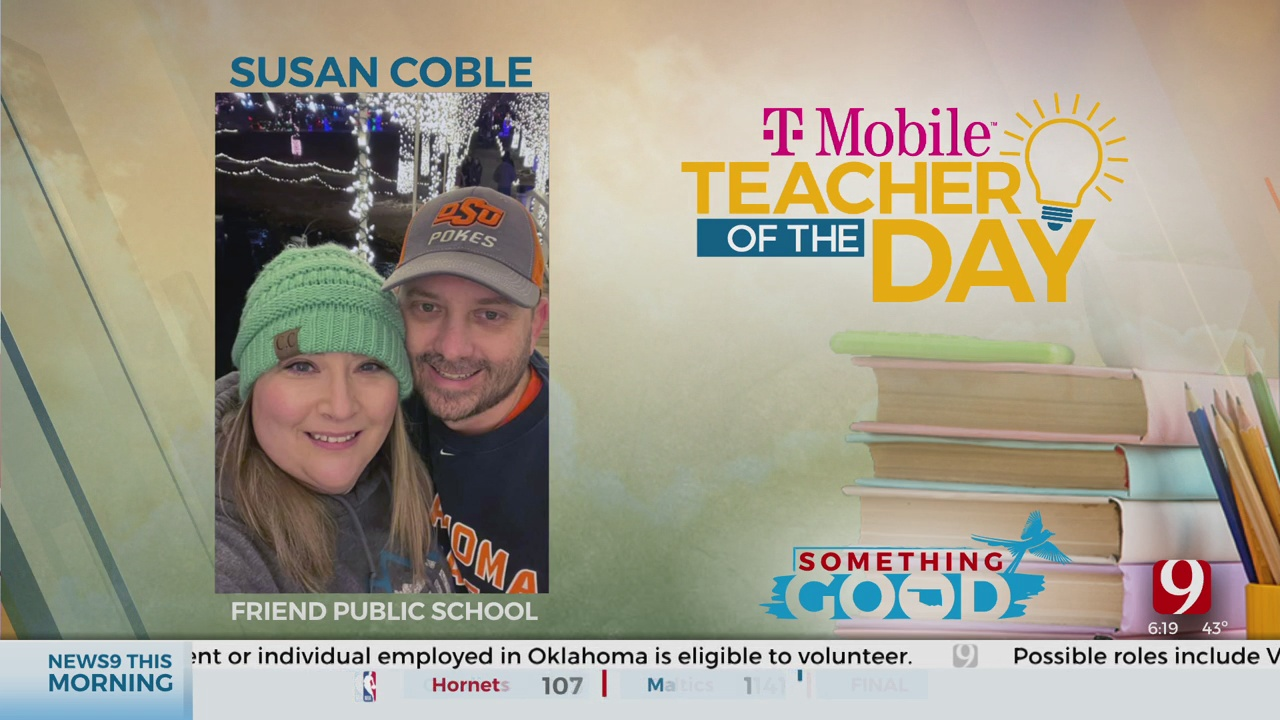 Teacher Of The Day: Susan Coble
