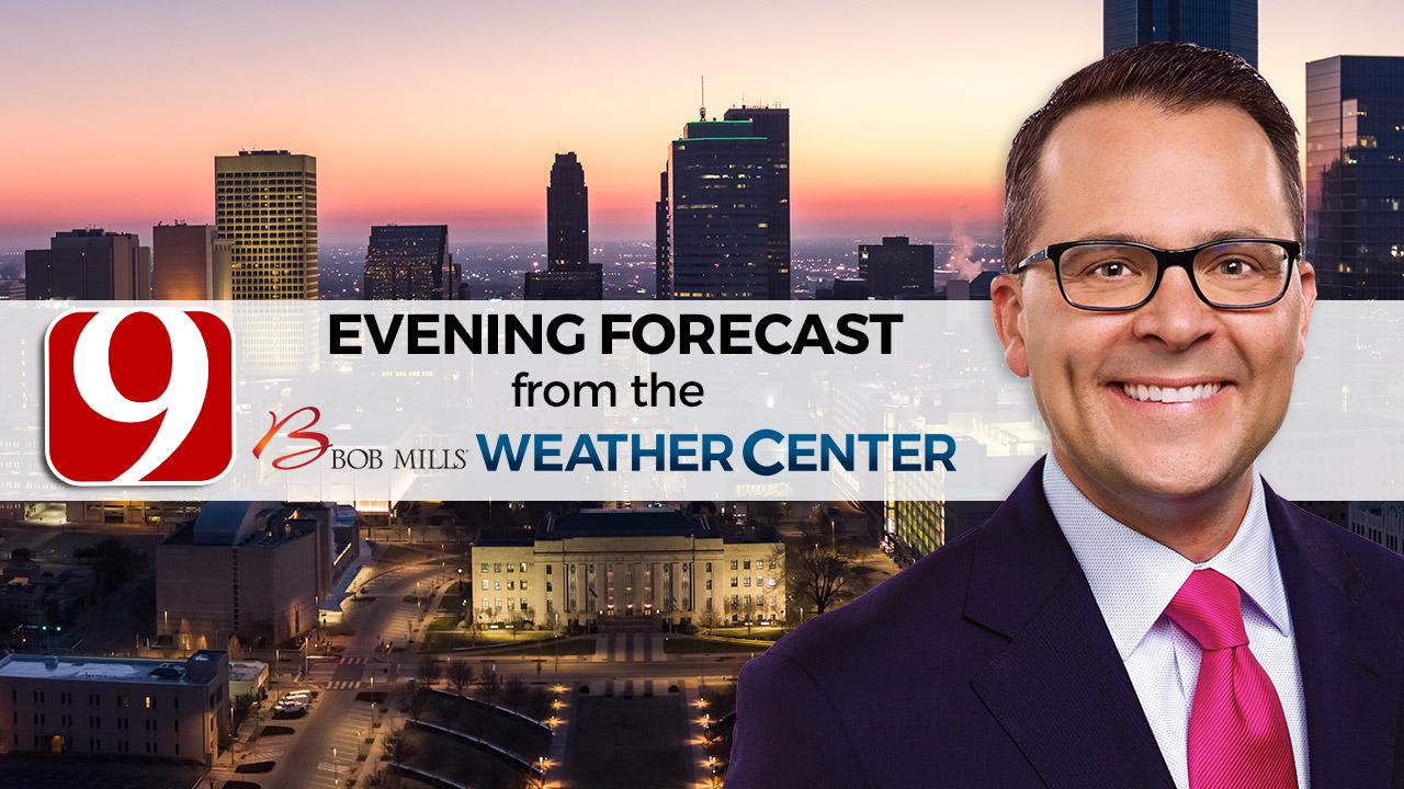 Evening Forecast With Justin Rudicel
