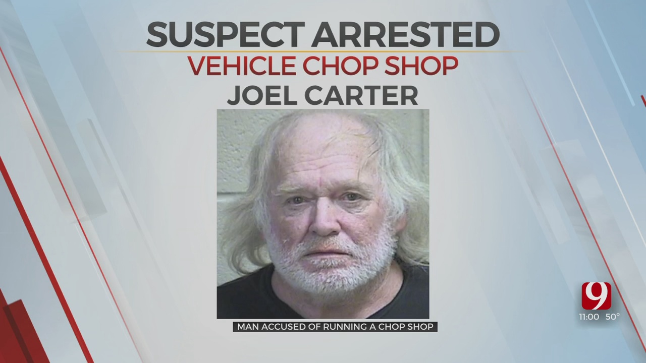 Pottawatomie Co. Man Arrested, Accused Of Operating Chop Shop For Nearly A Decade