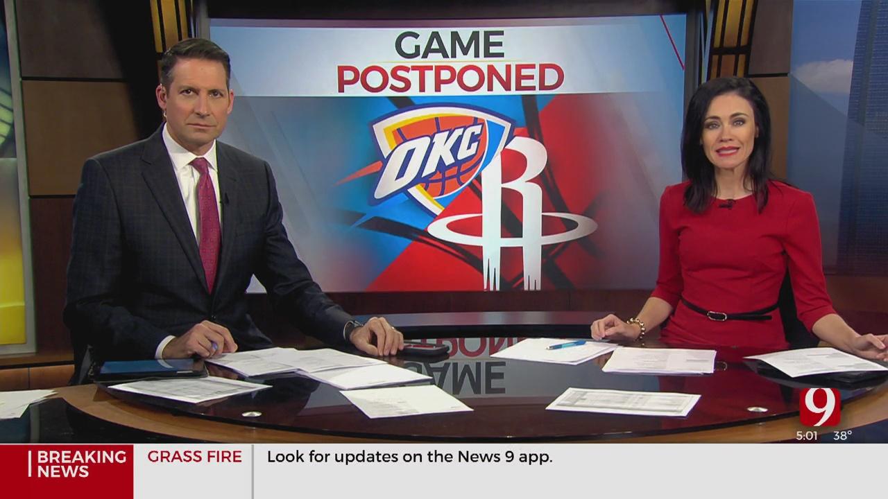 Thunder's Regular Season Opener Has Been Postponed