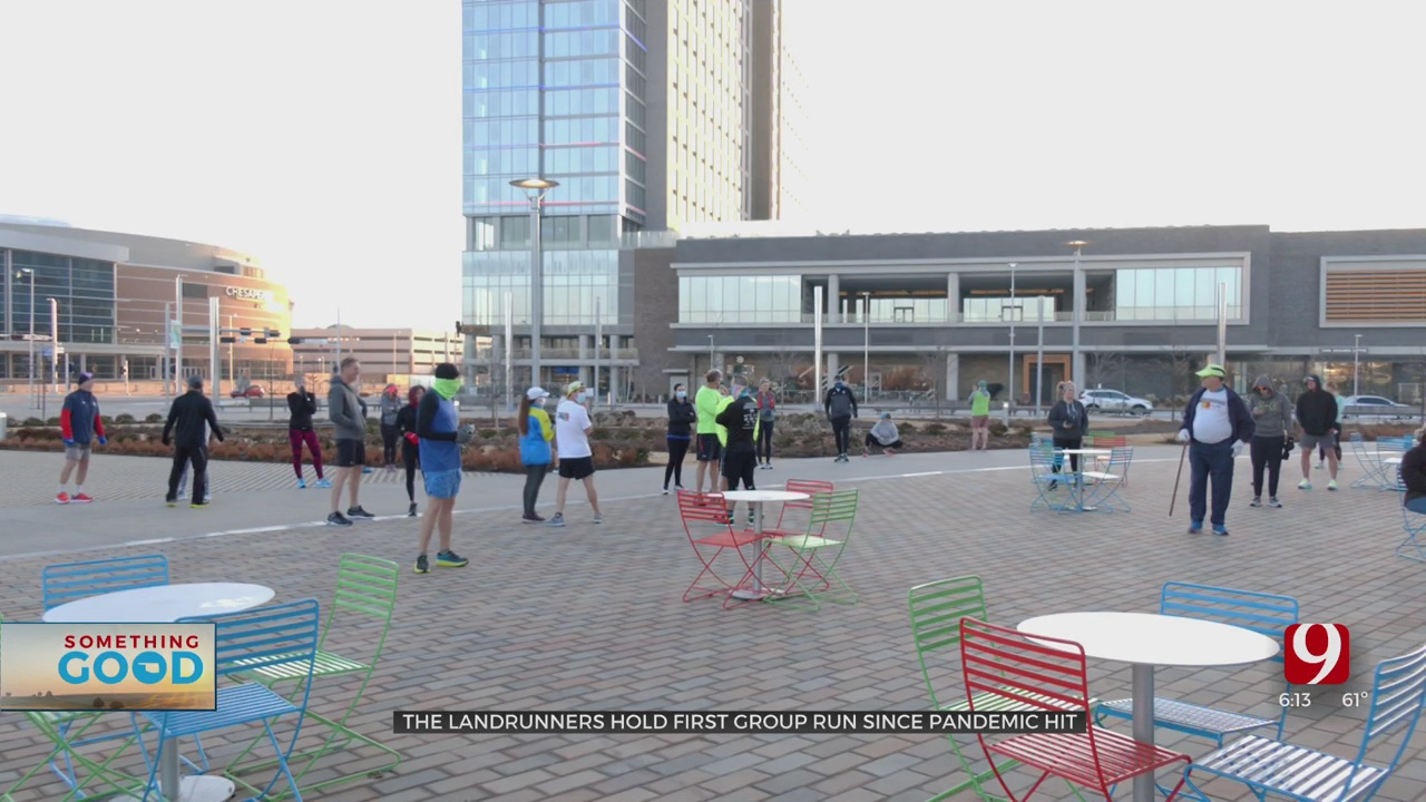 Metro Running Club Holds Its First Run Of The Year