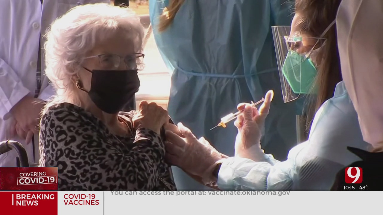 Oklahoma Nursing Home Urges Staff, Residents To Get Vaccinated After Low Early Turnout