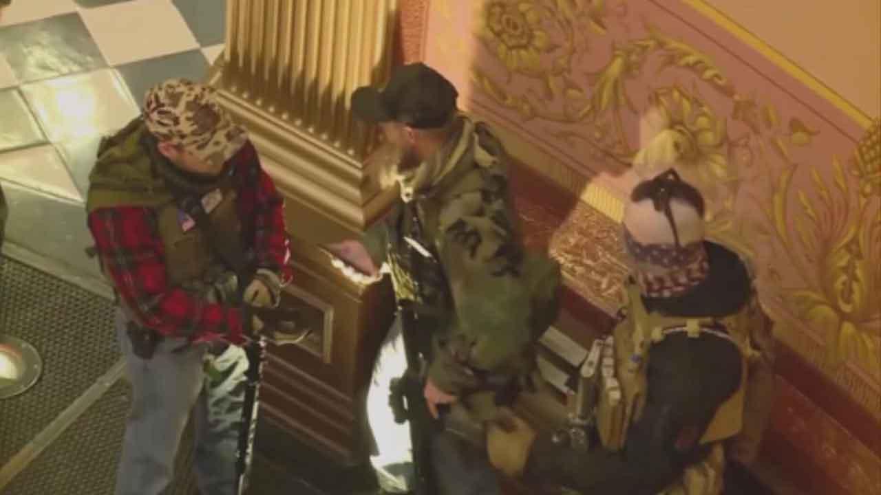 Michigan Militia Group Had Ties To Timothy McVeigh
