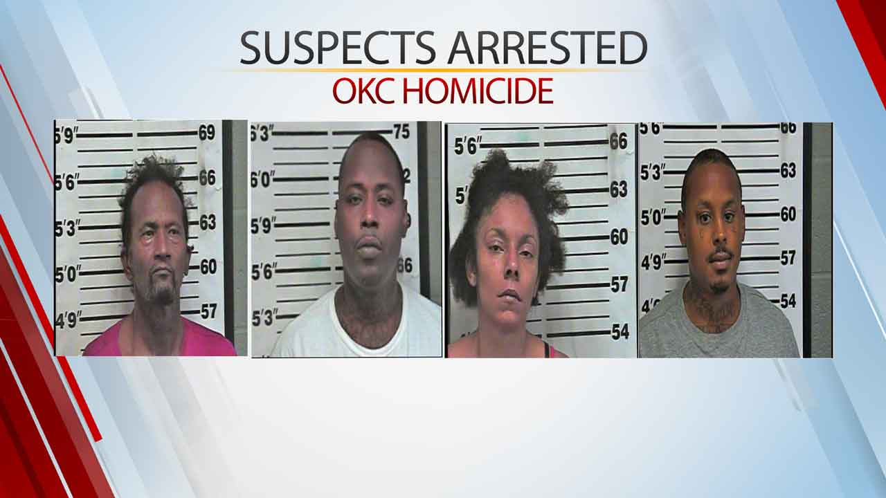 OCPD, US Marshals Arrest 4 In Connection With NW OKC Murder Of 25-Year-Old Man