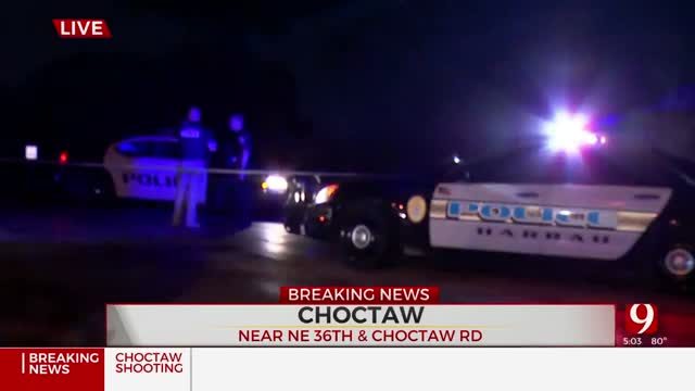 Choctaw Police Investigating After 1 Dead In Suspected Shooting
