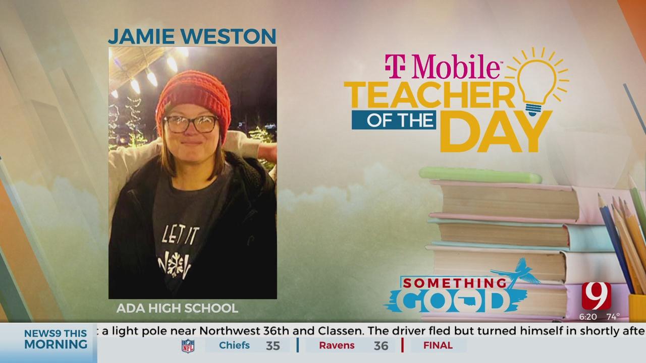 Teacher Of The Day: Jamie Weston