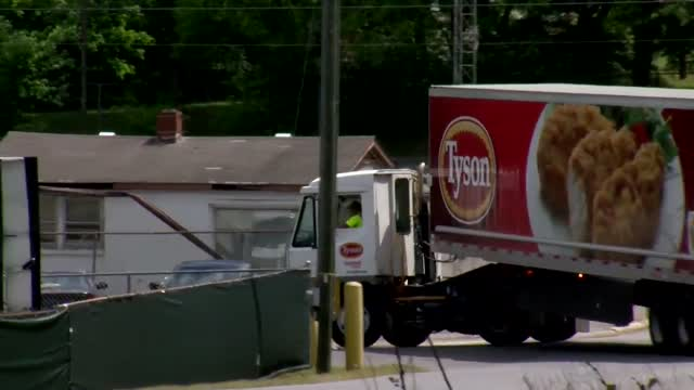 Nearly 600 Workers From North Carolina Tyson Chicken Processing Plant Test Positive For COVID-19