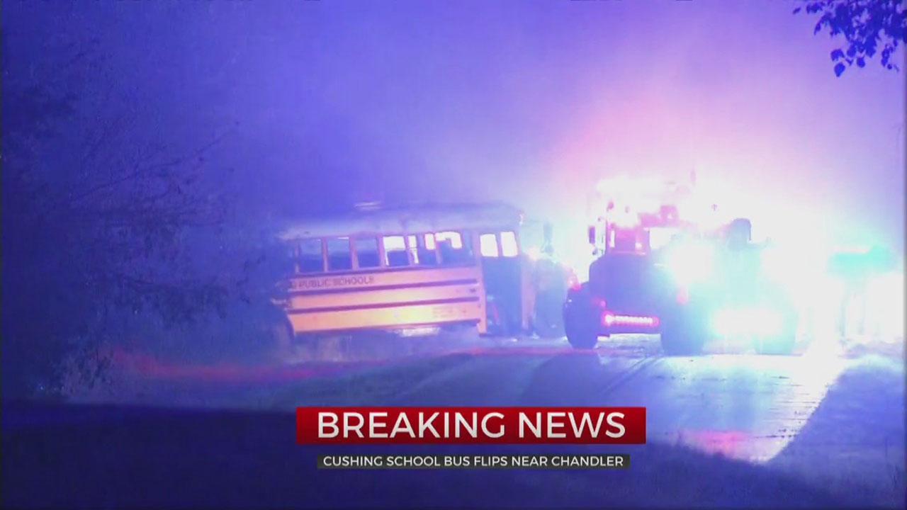 School Bus Crashes North Of Chandler, 1 Sent To The Hospital