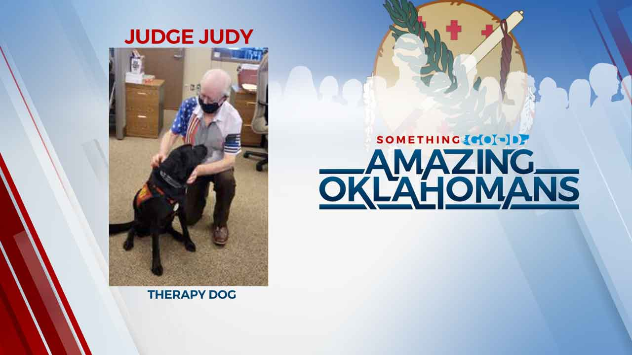 Amazing Oklahoman: Judge Judy Provides Comfort To Domestic Violence Victims