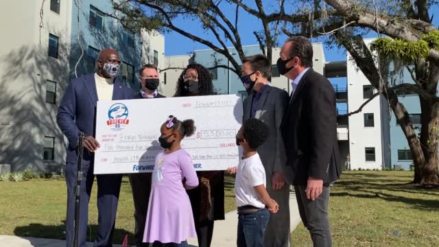 Tampa Mother Surprised With New Home