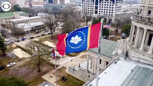 Mississippi Governor Signs Law For Flag Without Rebel Emblem