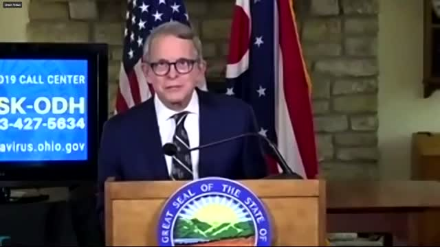 Ohio Governor Mike DeWine Tests Negative For Coronavirus A Second Time
