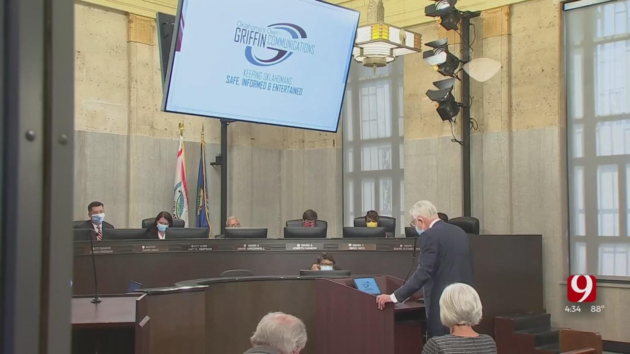 Griffin Communications CEO David Griffin Presents Downtown OKC Building Plans To City Council