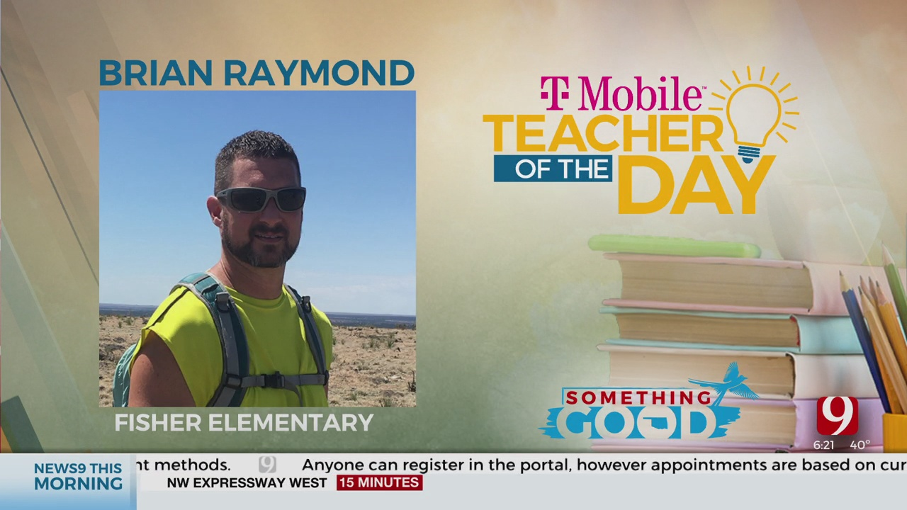 Teacher Of The Day: Brian Raymond