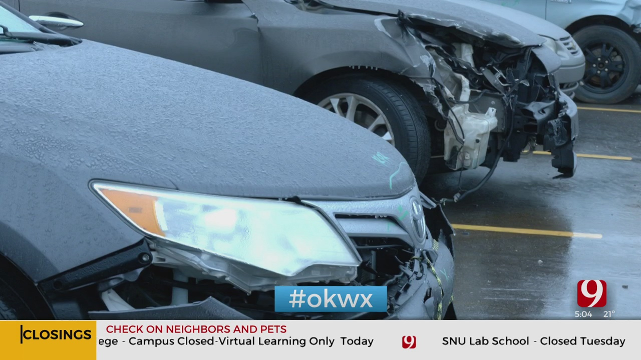 Collision Centers See Spike In Customers As Winter Weather Moves In