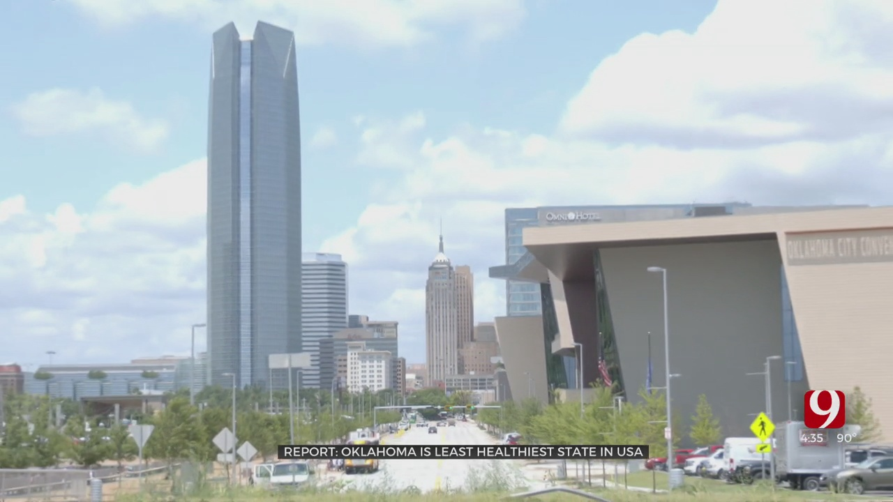 OKC Ranks Unhealthiest Out Of America's 100 Largest Cities
