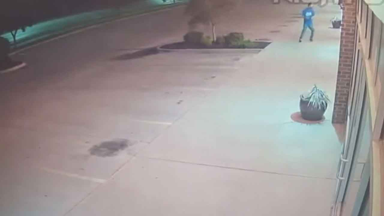 Caught On Camera: Thai Restaurant In Del City Vandalized 4 Times, Police Searching For Suspects
