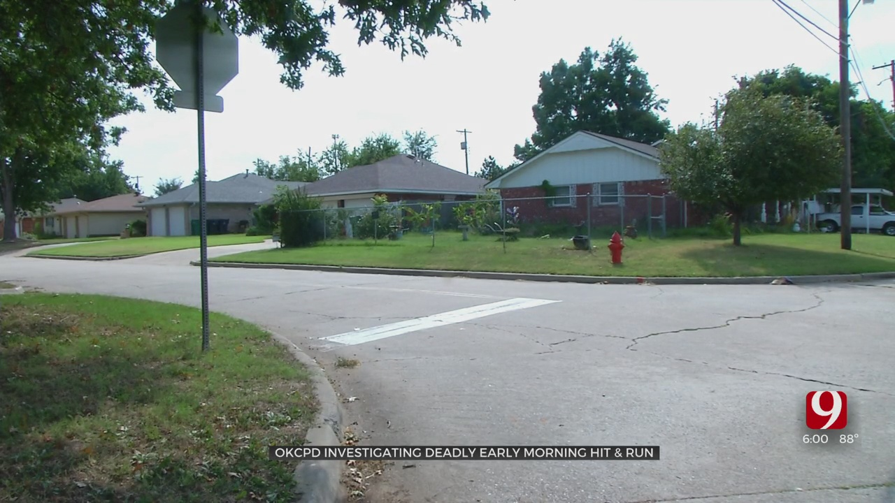 Body Found After Deadly Hit-And-Run in SW OKC