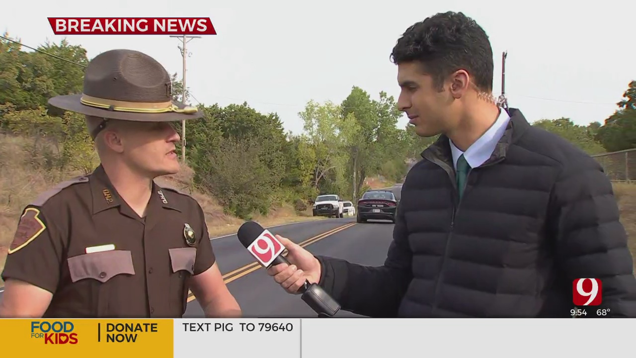 Body Found Near Edmond; Troopers Investigate Death As An Auto-Pedestrian Crash