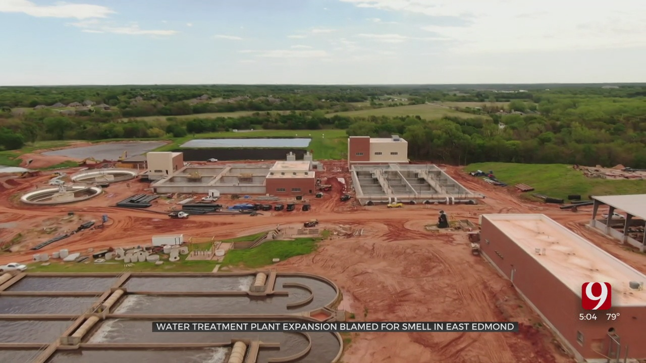 Sewage Plant Upgrade Causing Horrible Smell For Residents In East Edmond