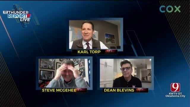 WATCH: Thunder Insider Q&A With Dean, Steve & Karl