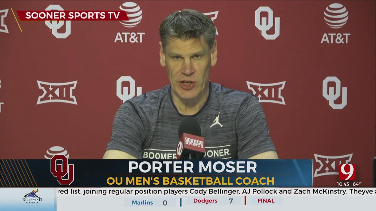 Porter Moser Talks OU Basketball