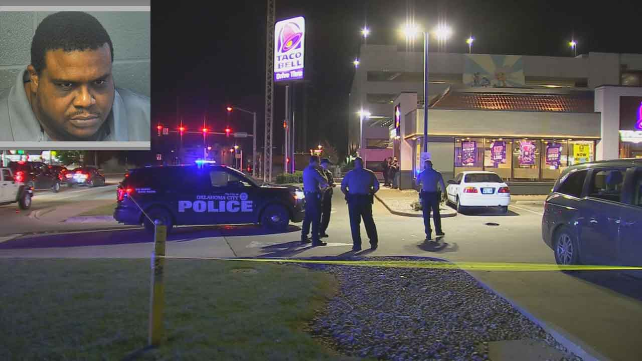 Security Guard Under Investigation, Accused Of Shooting Homeless Man At Taco Bell In Downtown OKC