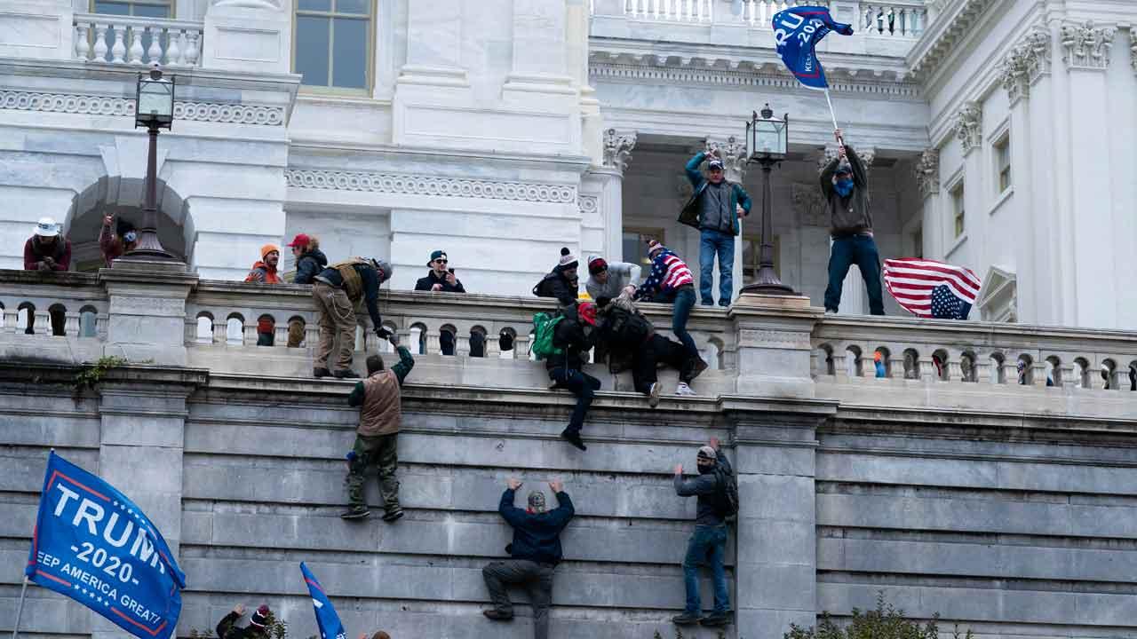 DC Bureau Chief Alex Cameron Recalls Tense Moments Of Capitol Lockdown, Protests