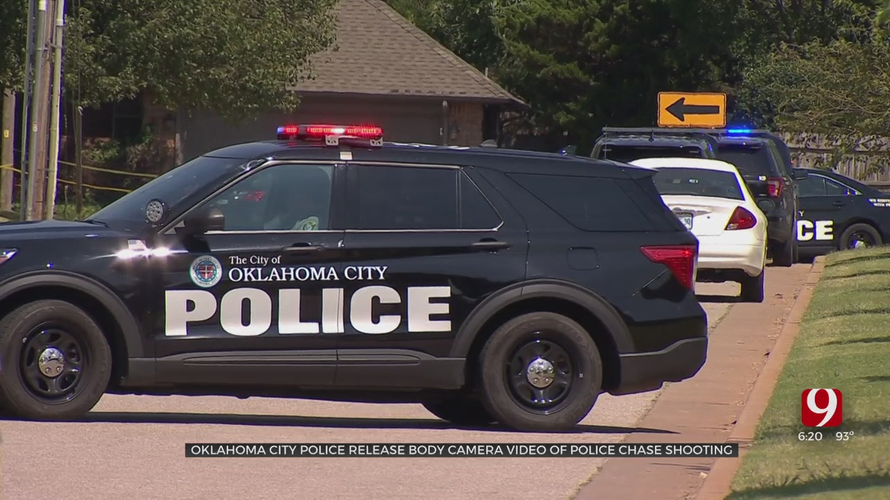 OCPD Release Body Cam Footage Of Police Chase Shooting
