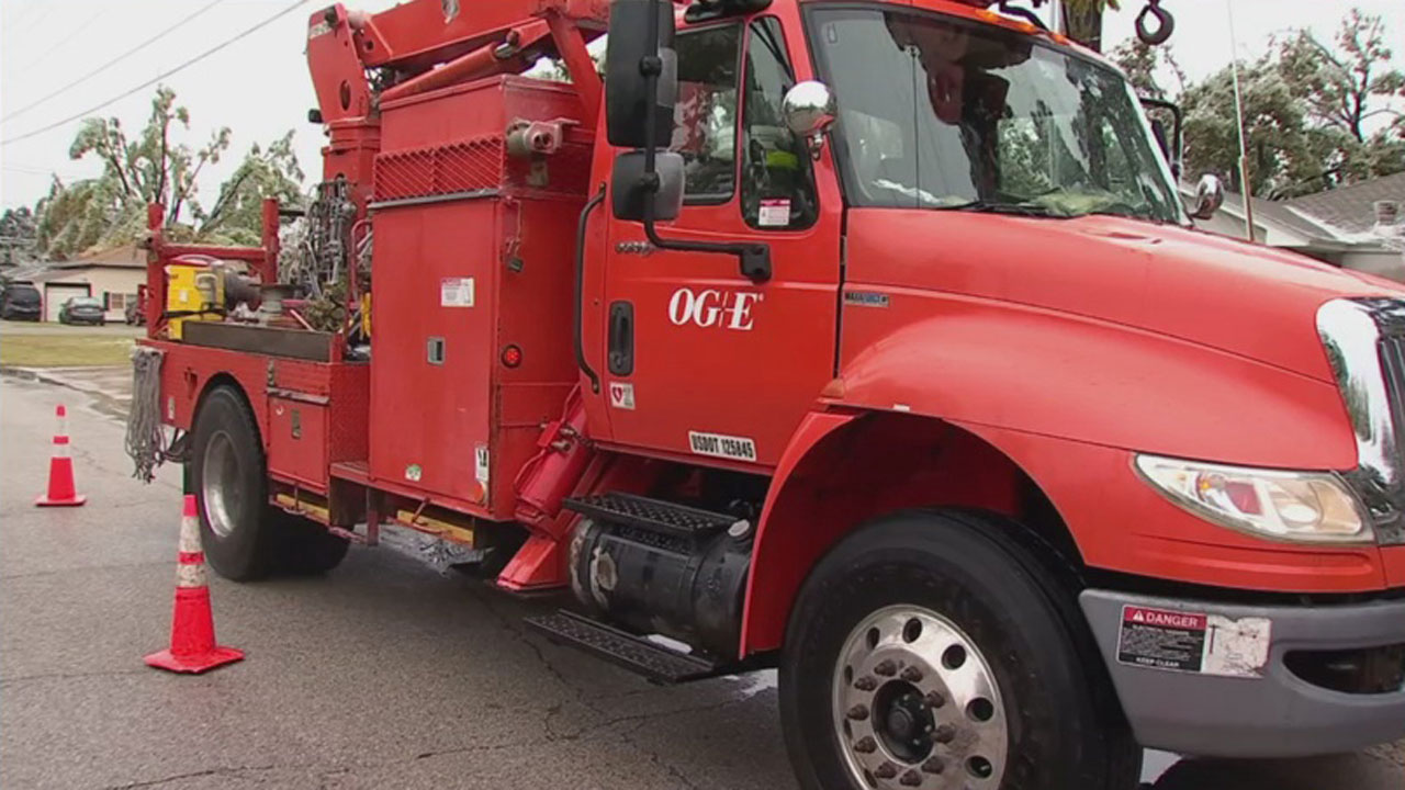 OG&E Makes Preparations For Winter Weather
