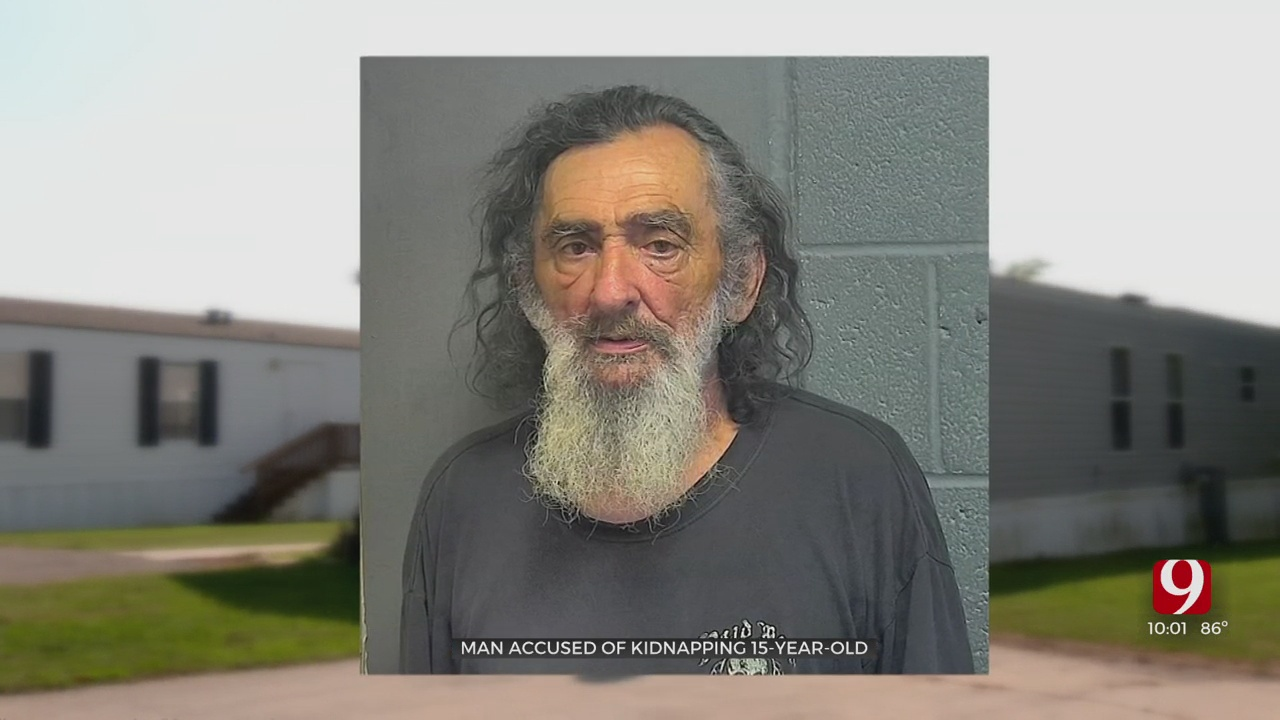 Choctaw Man Arrested, Accused Of Lewd Acts & Kidnapping Of 15-Year-Old