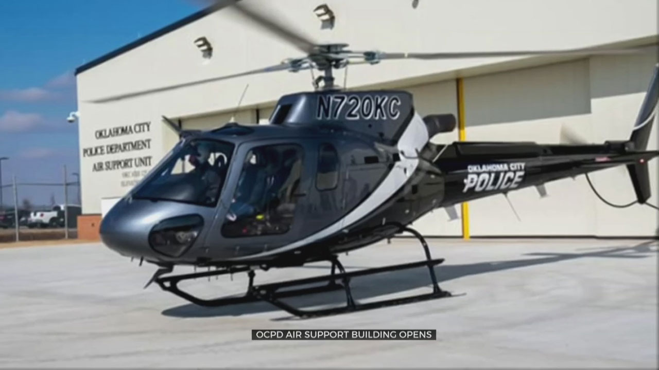 OCPD Air Support Building Opens