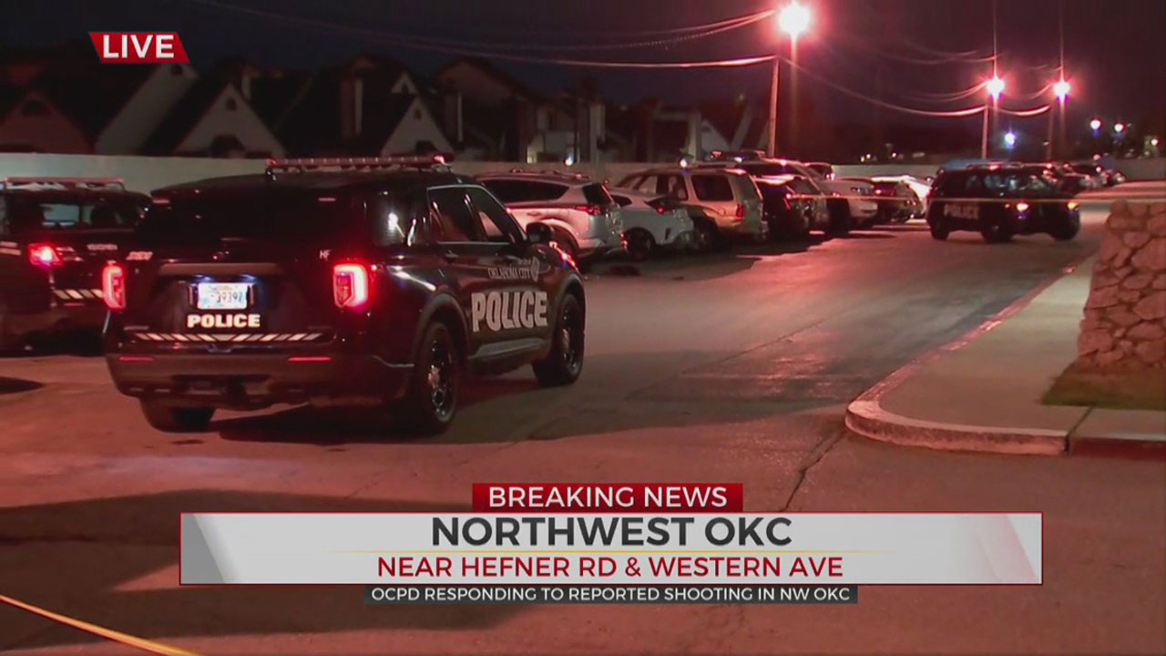 1 Taken To Hospital Following Shooting In NW OKC