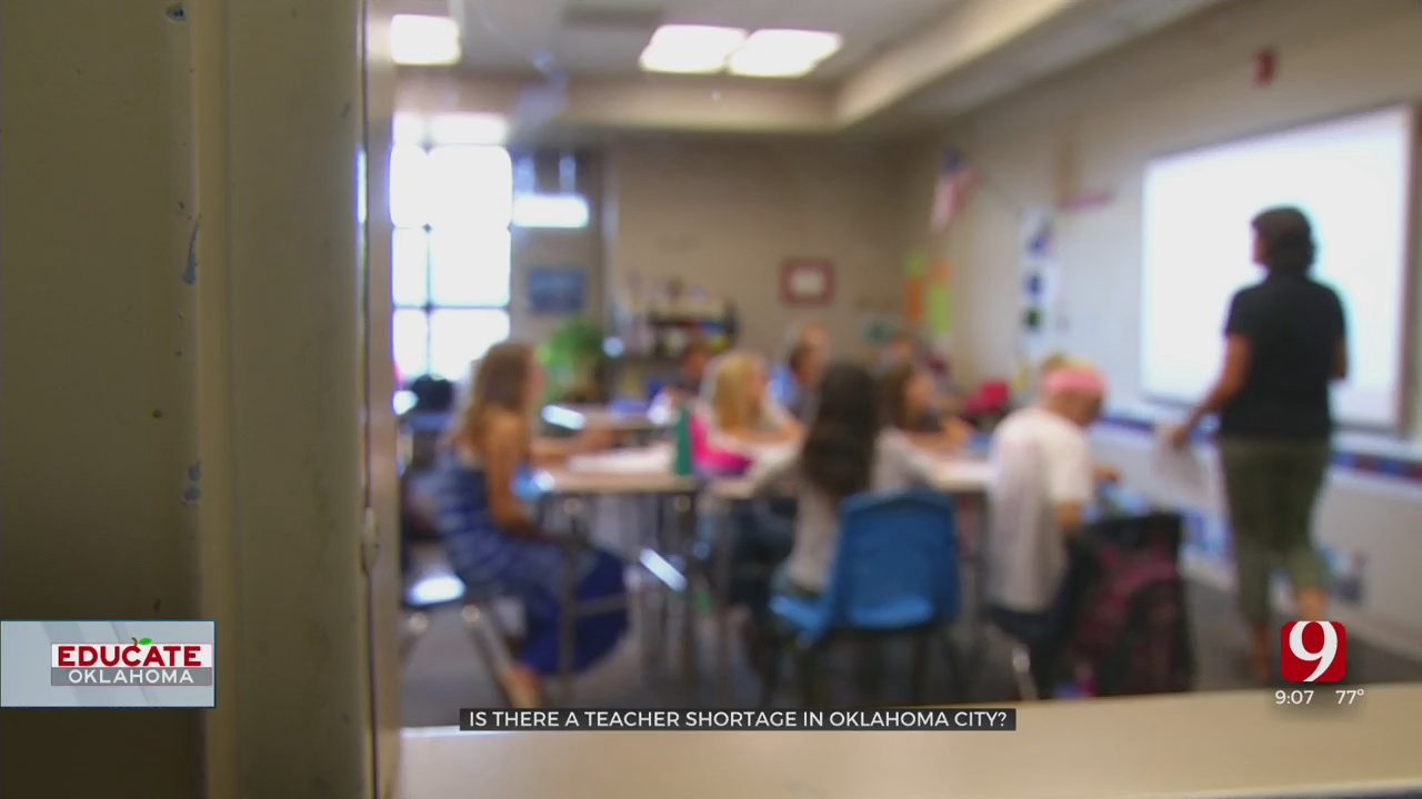 WATCH: Is There Be A Teacher Shortage In OKC?
