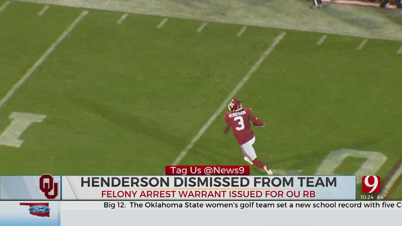 Arrest Warrant Issued For OU RB Mikey Henderson, Dismissed From Team