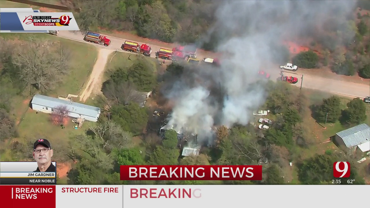 Cleveland County Home Destroyed By Fire