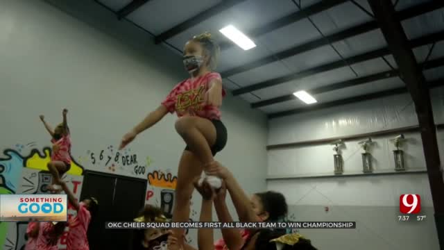 Impact Xtreme Cheer Team Becomes First All-Black Team To Win Title