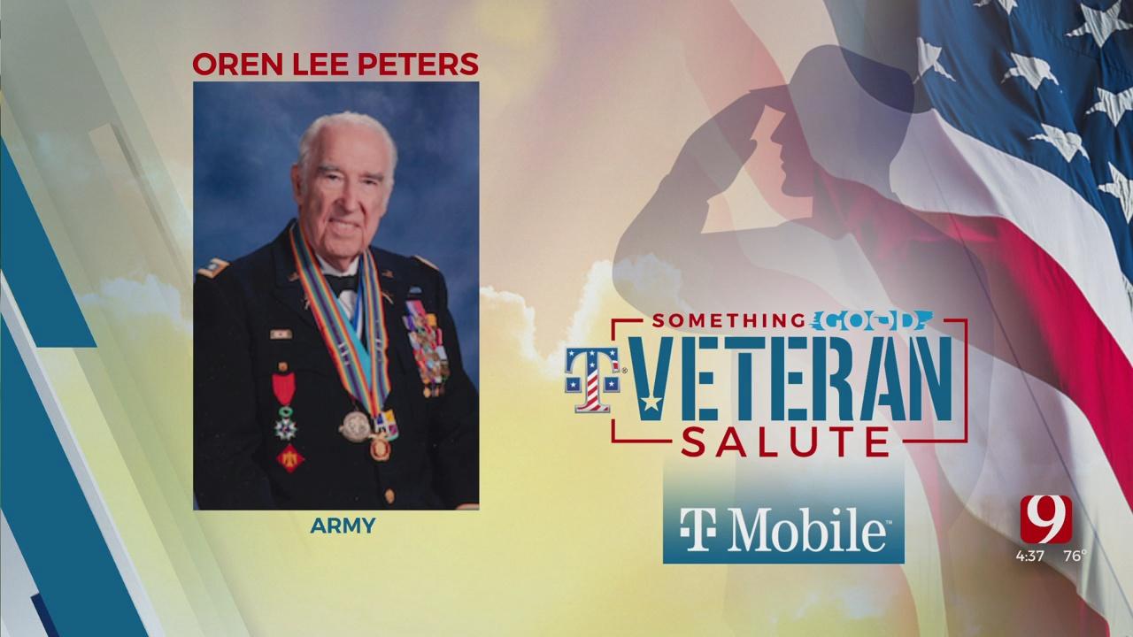 Veteran Salute: Oren Lee Peters