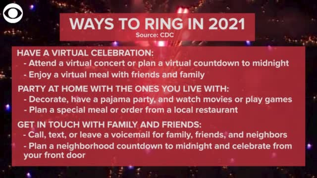 WATCH: How To Ring In The New Year According To The CDC