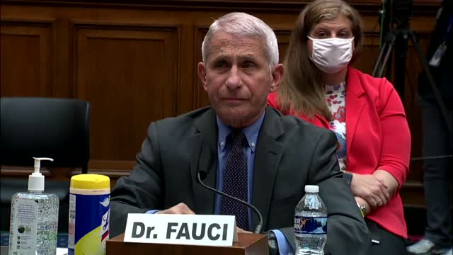 Dr. Fauci: 'None Of Us Have Ever Been Told To Slow Down On Testing'
