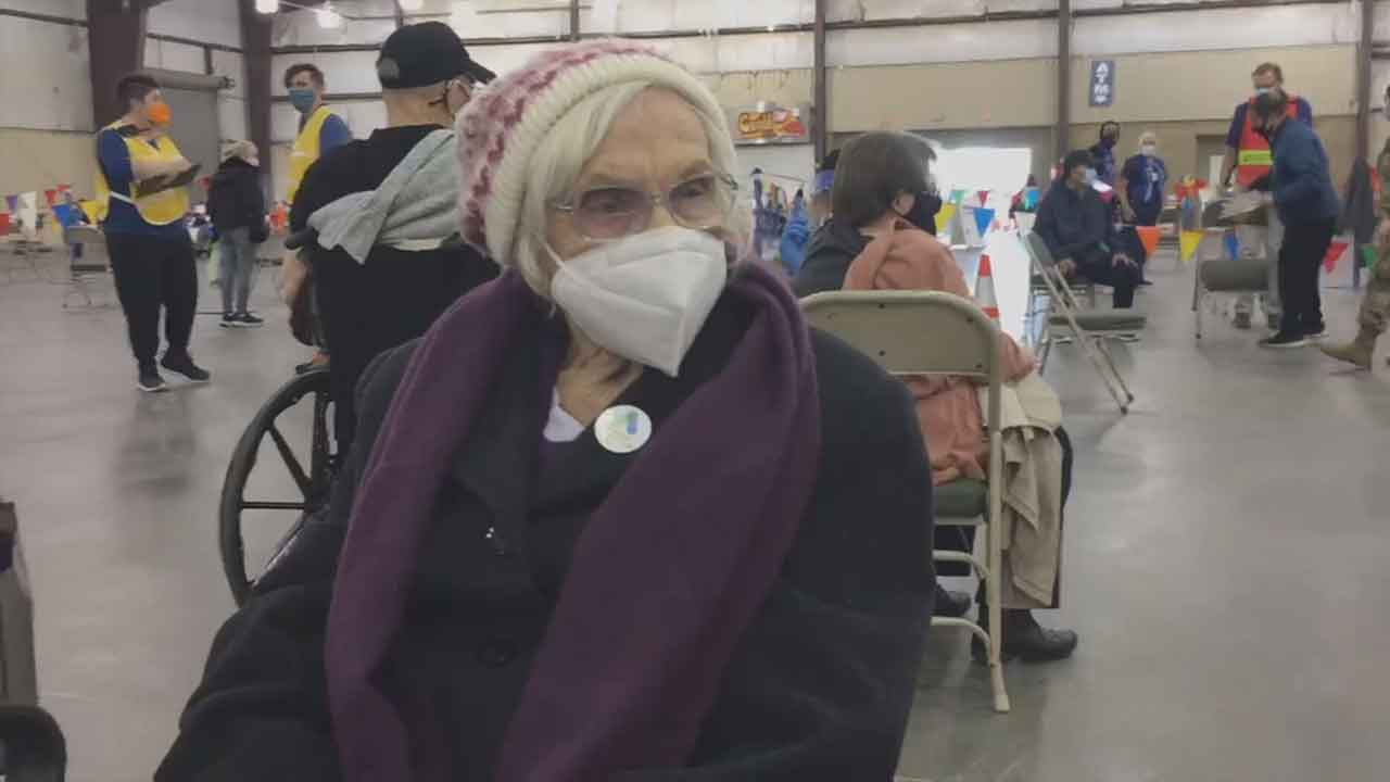 102-Year-Old Oklahoma Woman Receives COVID-19 Vaccine
